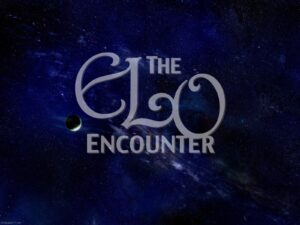 ELO Encounter Tribute | Deep Blue Space With Text