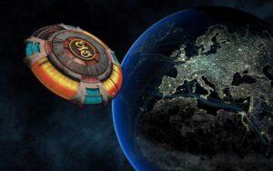 ELO Encounter Tribute   ELO Spaceship Background