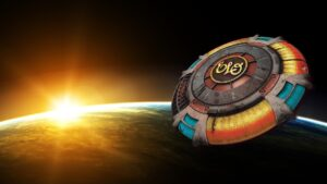 ELO Encounter Tribute | ELO Spaceship Sunrise Background