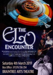ELO Encounter Tribute - Braintree Arts Theatre Poster