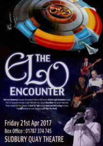 ELO Encounter Tribute - Poster - Sudbury Quay Theatre