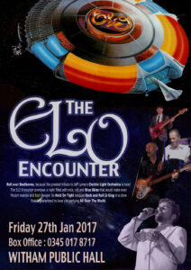 ELO Encounter Tribute - Poster - Witham Public Hall