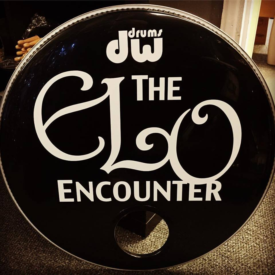 ELO Tribute | ELO Encounter Drum Logo