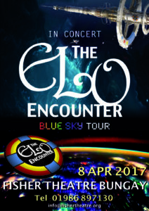 Fisher Theatre Bungay - ELO Encounter Tribute Poster