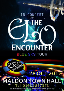 Mallon Town Hall - ELO Encounter Tribute Poster