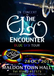 Mallon Town Hall - ELO Encounter Tribute Poster