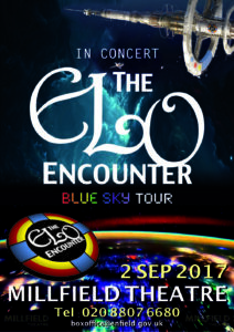 Millfield Theatre - ELO Encounter Tribute Poster