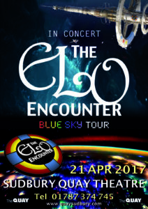 Sudbury Quay Theatre - ELO Encounter Tribute Poster