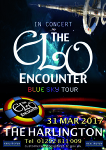 The Harlington - ELO Encounter Tribute Poster