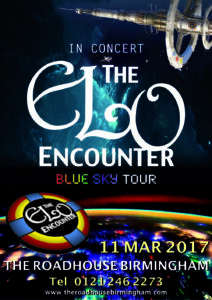 The RoadHouse Birmingham - ELO Encounter Tribute Poster