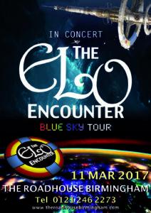 The RoadHouse Birmingham - ELO Encounter Tribute Poster