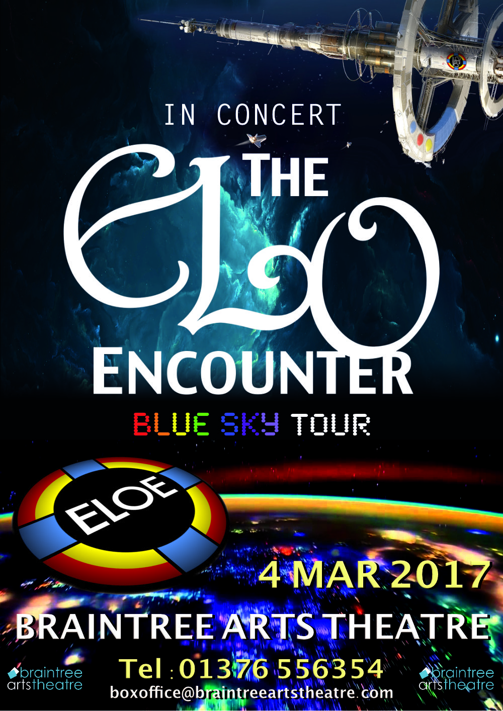 Braintree Arts - ELO Encounter Poster