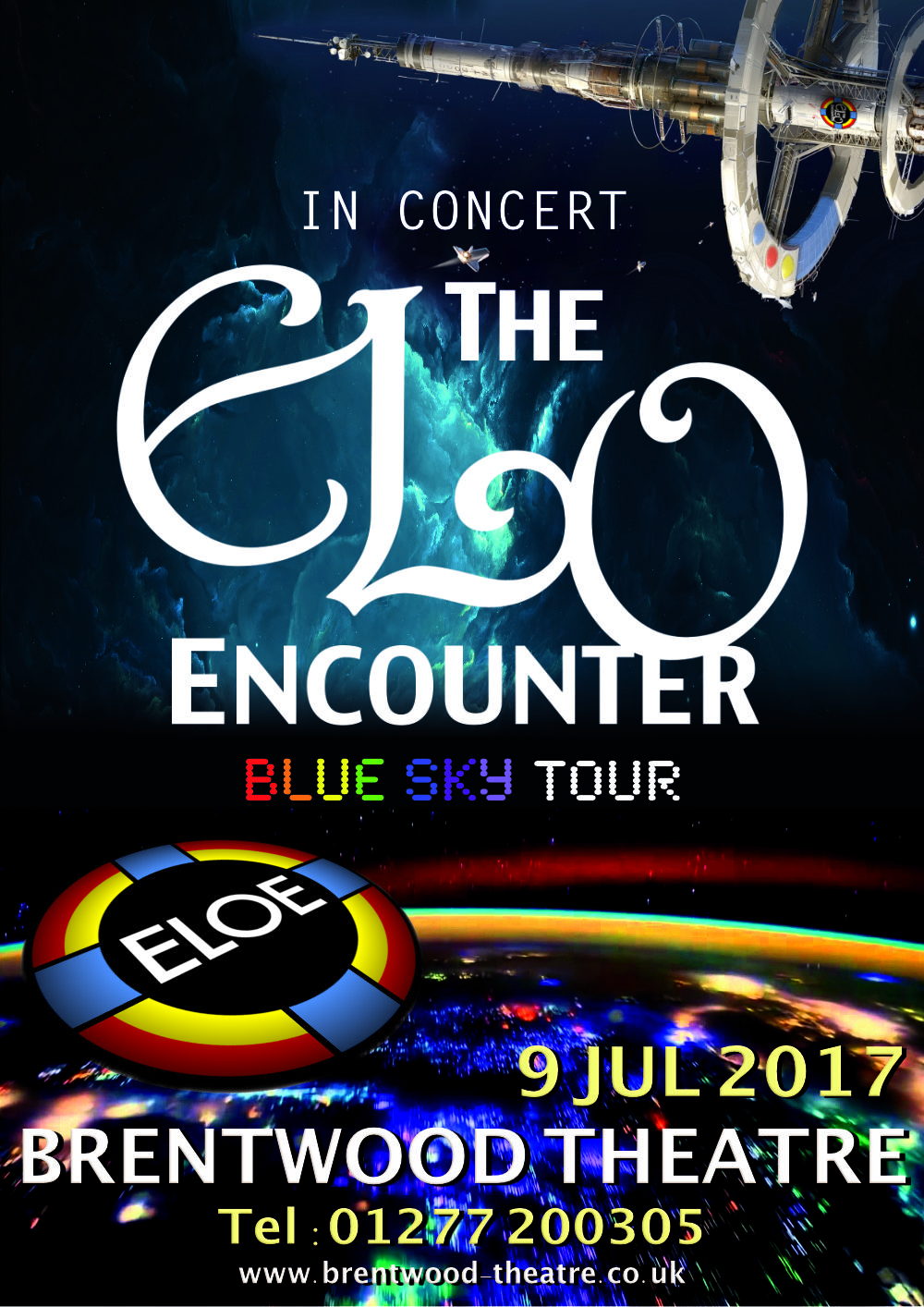 Brentwood Theatre - ELO Encounter Poster