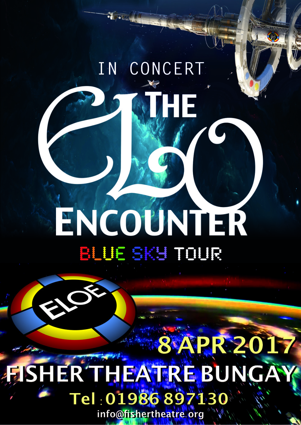 Fisher Theatre Bungay - ELO Encounter Poster