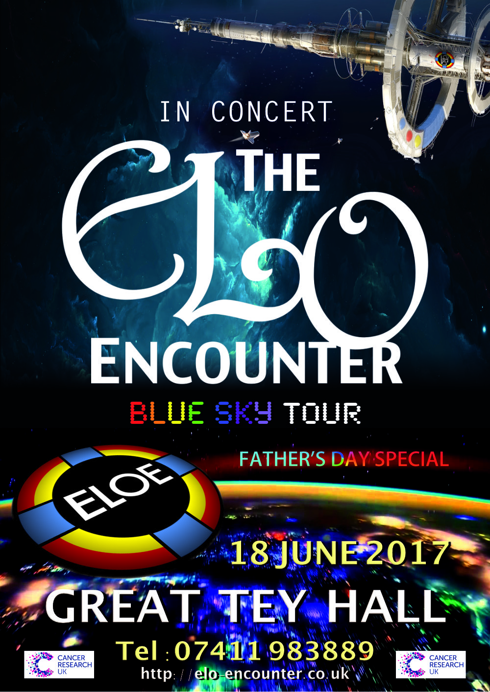 Great Tey Hall - ELO Encounter Poster