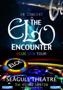 Seagull Theatre Lowestoft - ELO Encounter Tribute Poster