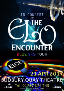 Sudbury Quay Theatre - ELO Encounter Poster