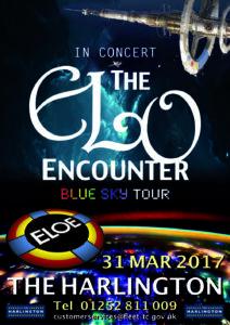 The Harlington - ELO Encounter Poster