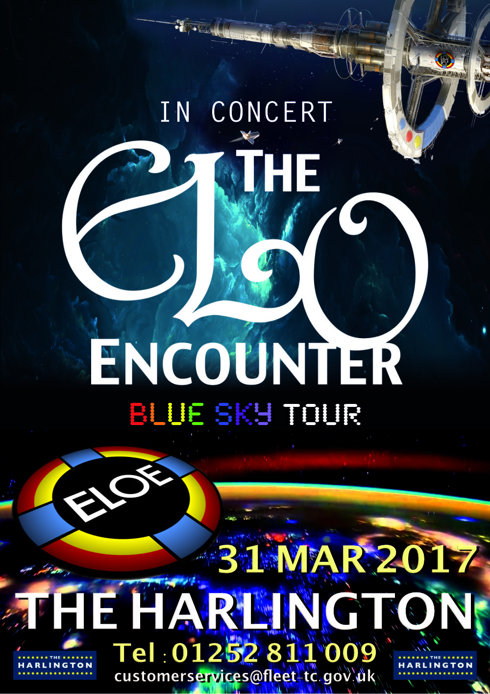 The Harlington - ELO Encounter Poster
