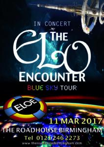 The Roadhouse Birmingham - ELO Encounter Poster