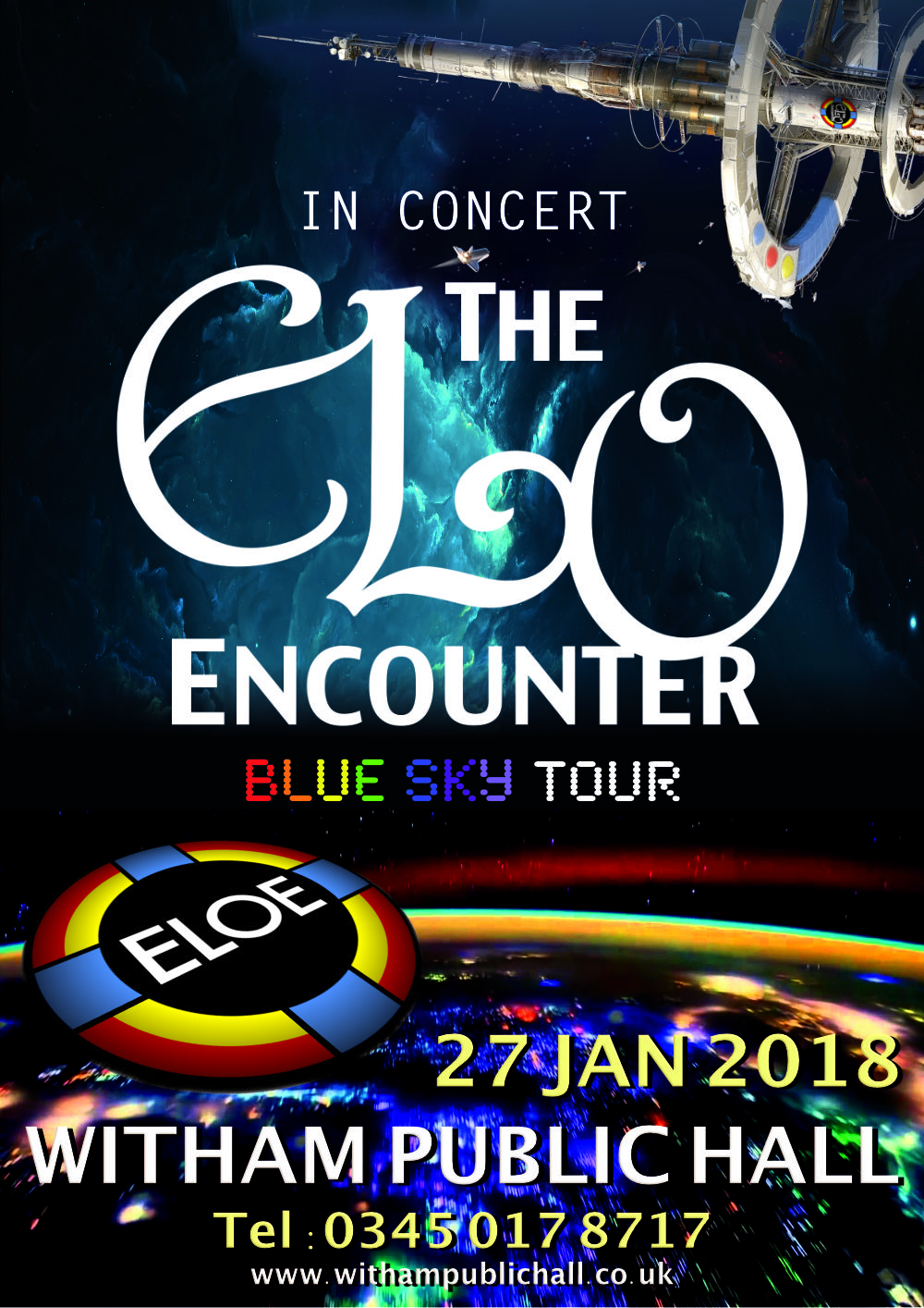 Witham Public Hall 2018 - ELO Encounter Poster