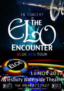 Aylesbury Waterside Theatre - ELO Encounter Tribute Poster