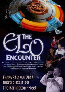 ELO Encounter Tribute poster the Harlington