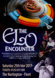 ELO Encounter Tribute - Poster - The Harlington