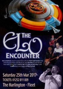 ELO Encounter Tribute - Poster - The Harlington