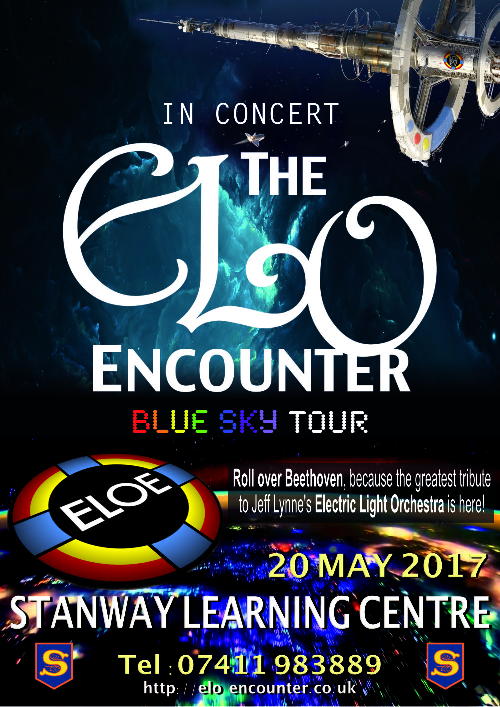 Stanway Learning Centre - ELO Encounter Poster