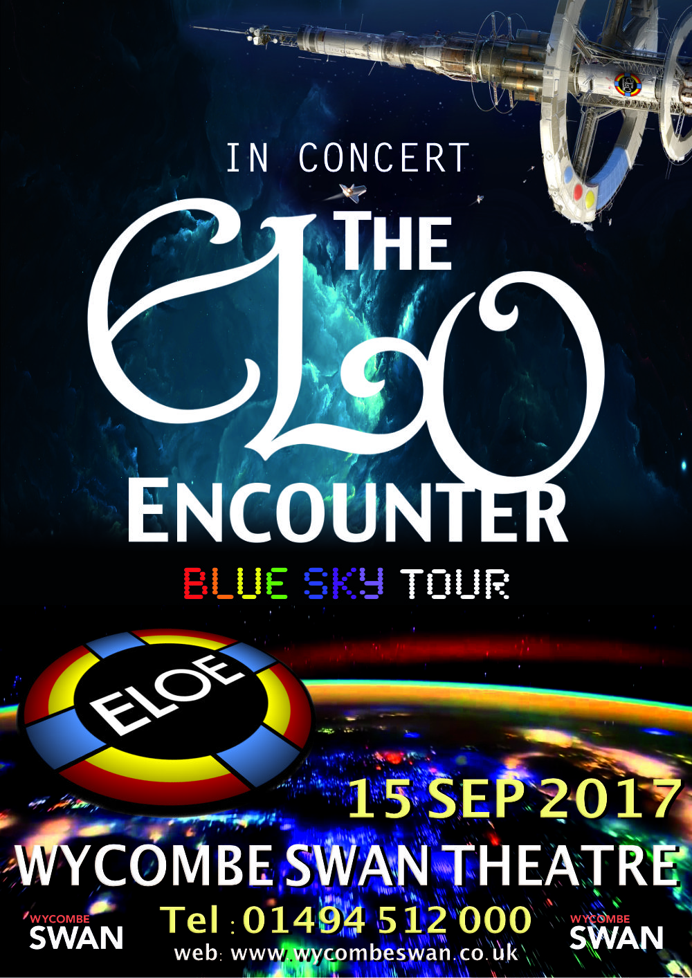 Wycombe Swan Theatre - ELO Encounter Poster