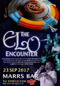 ELO Encounter - Leaflet - Marrs Bar