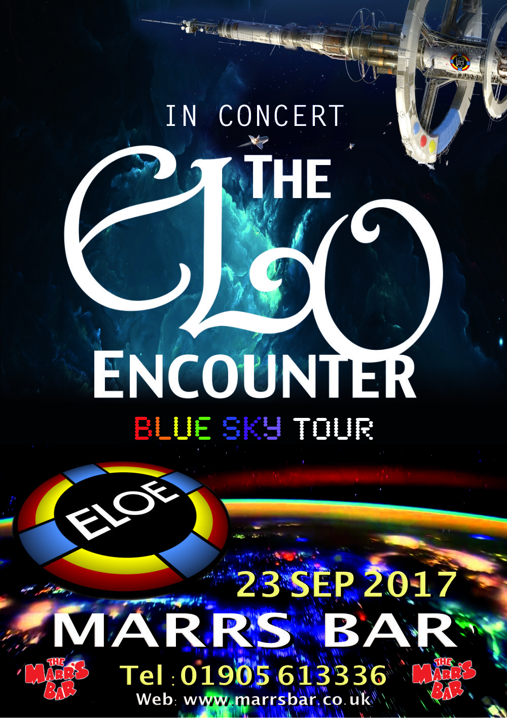 Marr's Bar - ELO Encounter Poster