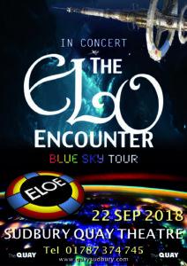 Sudbury Quay Theatre 2018 - ELO Encounter Poster
