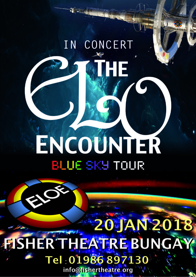 Fisher Theatre Bungay 2018 - ELO Encounter Poster