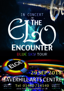 Haverhill Arts Centre 2018 - ELO Encounter Poster