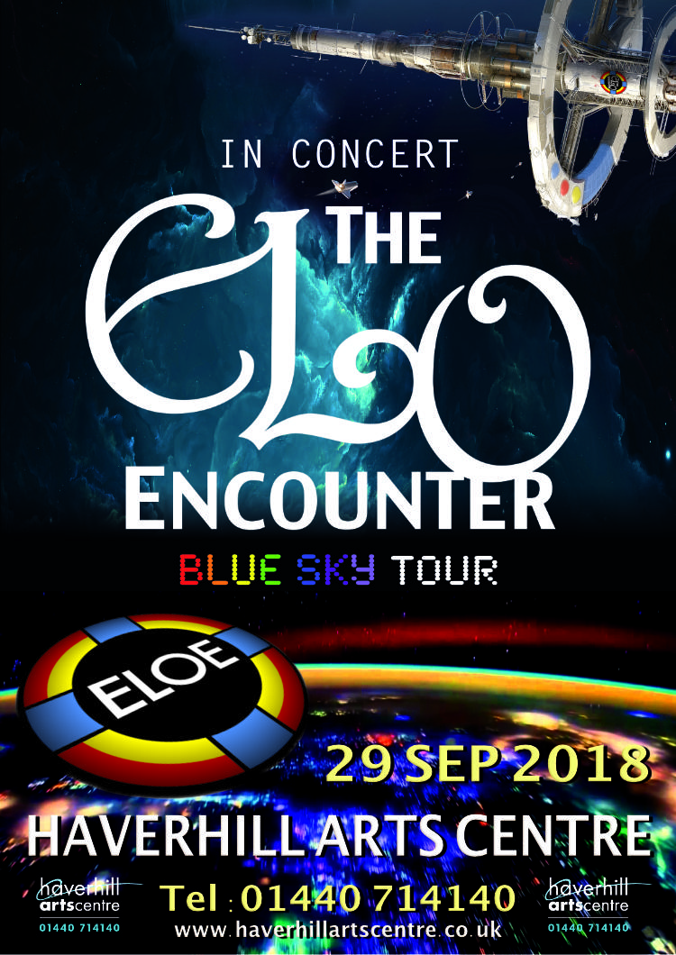 Haverhill Arts Centre 2018 - ELO Encounter Poster
