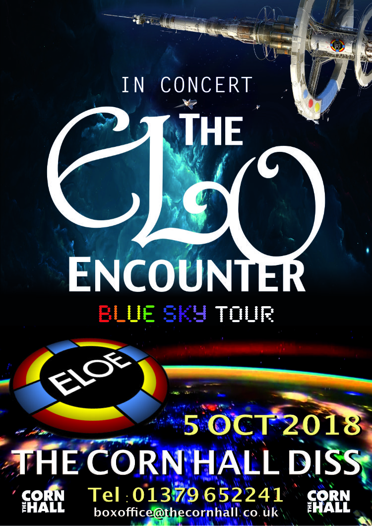 The Corn Hall Diss 2018 - ELO Encounter Poster