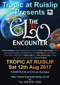 ELO Encounter Tribute | Tropic at Ruislip Poster