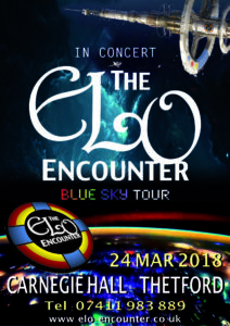 Carnegie Hall - ELO Encounter Poster