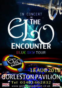 Gorleston Pavilion Theatre 2018 - ELO Encounter Poster