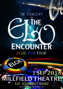 Millfield Theatre 2018 - ELO Encounter Tribute Poster