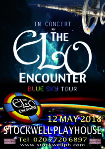 Stockwell Playhouse - ELO Encounter Tribute Poster