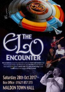 ELO Encounter Tribute - Poster - Maldon Town Hall