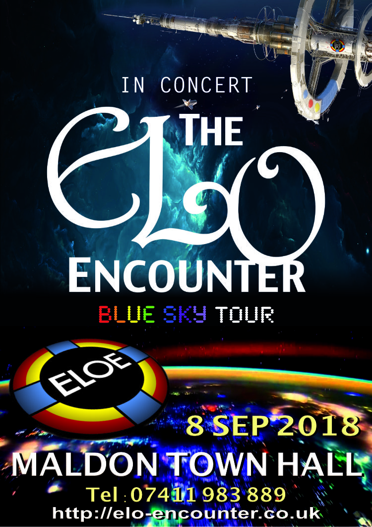 Maldon Town Hall - 2018 - ELO Encounter Tribute