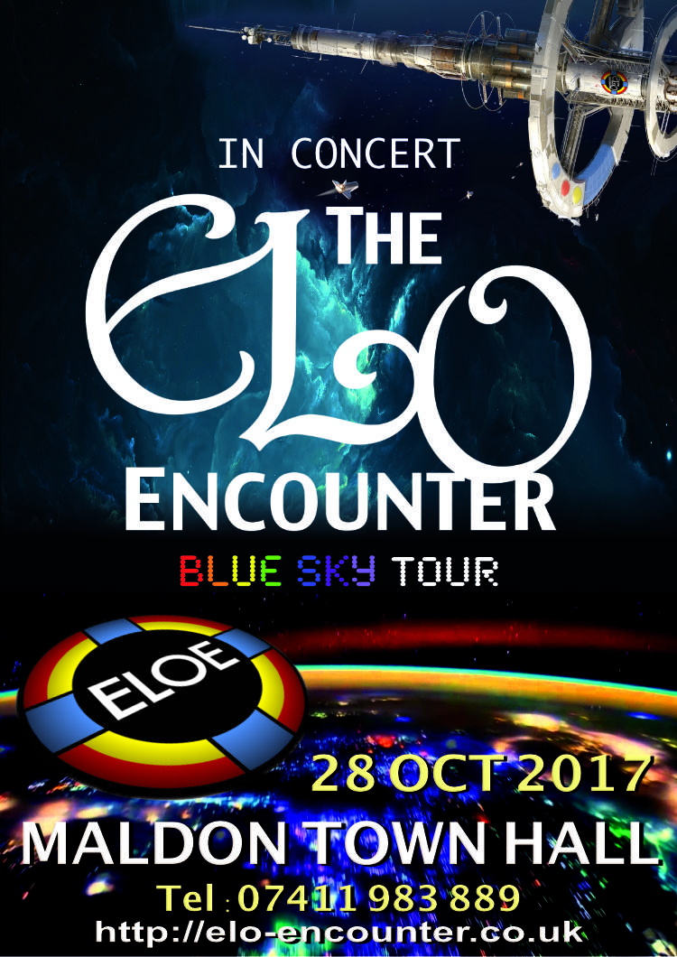 Maldon Town Hall - ELO Encounter Tribute Poster