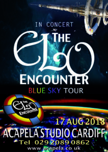 Acapela Studio Cardiff - ELO Encounter Tribute