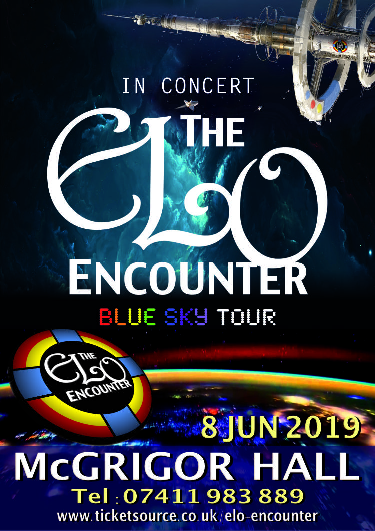 McGrigor Hall - Frinton - ELO Encounter Tribute