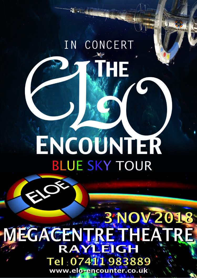 MegaCentre Theatre - Rayleigh - ELO Encounter Tribute