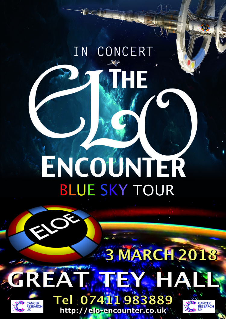 Great Tey Hall 2018 - ELO Encounter Tribute